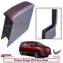 Proton Ertiga 2016 4' Plywood PVC Armrest Center Console Box (Sponge+Diamond)